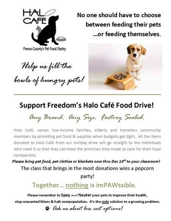 Halo Cafe Flyer