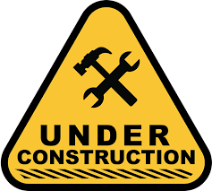 hat and wrench under construction icon