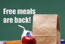 Free Meals are back!