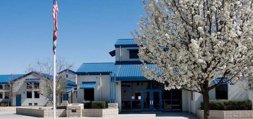 Freedom Elementary courtyard